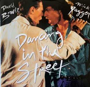 "David Bowie And Mick Jagger ‎- Dancing In The Street (12"") (G++/VG-)"